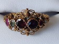 Emerald Band Round Not Enhanced Fine Gemstone Rings