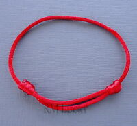 One Red Lucky Bracelet Kabbalah Evil Eye Jewelry String Adjustable