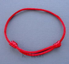 One Red Lucky Bracelet Kabbalah Evil Eye Jewelry String Adjustable