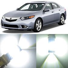 Alla Lighting Rear Brake Tail Signal Light 7440 White LED Bulb for Acura TSX ZDX