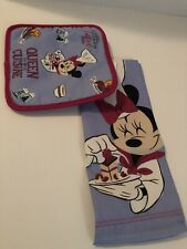 New ListingDisney Parks Food & Wine Festival Minnie Queen Of Cuisine Towel & Potholder 2020