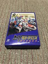 New Rare Game soft Famicom 『Motocross champion』from Japan ☆