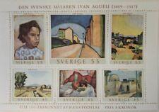 VINTAGE CLASSICS - Sweden 821 Paintings By Ivan Agueli - Souvenir Sheet - MNH