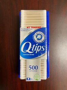 Q-Tips 100% Pure Cotton Swabs Soft Multi-purposes Ultimate Beauty tool ~ 500 Ct