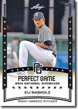 ELI NABHOLZ 2014 Leaf *PERFECT GAME*  Baseball Rookie RC