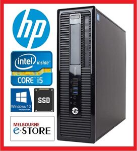 Refurbished HP 400 G1 Core i5 4570 8GB RAM 128GB 240GB 480GB SSD 10 Pro Used PC