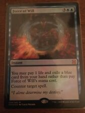 Foil Force of Will Eternal Masters  NM Near Mint- MTG Magic the Gathering