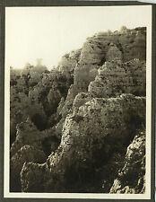 PHOTO ANCIENNE - VINTAGE SNAPSHOT - MONTPELLIER LE VIEUX CHAOS 3