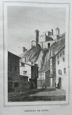 **** RARE - GUIDE PITTORESQUE DU VOYAGEUR EN FRANCE : DEPT DE L'ARIEGE 09 - 1837