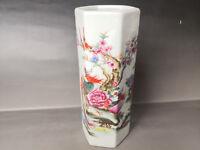Chinese old porcelain vase Painted glaze porcelain vase