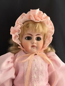"""Vintage Reproduction Doll Bisque Doll Repro Doll 16.5"""""""