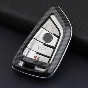 FOR BMW Carbon Fiber Hard Shell Smart Key Case Holder Cover F45 F46 G20 G21 G30