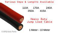 PVC Flex Black Red Battery Earth Starter Welding Cable 110 170 240 350 415 Amp