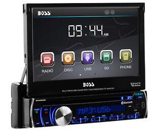 "BOSS Audio BV9986BI Car DVD, Bluetooth, 7"" Touchscreen, Multi-color Illumination"