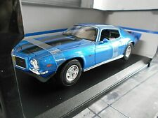 CHEVROLET Camaro Z-28 Z 28 Coupe blau blue met 1971 V8 Muscle Car US Maisto 1:18