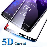 For Samsung Galalxy Note 9 5D Curved Full Tempered Glass Screen Protector Film
