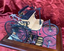 1886 Benz Patent Motorwagen RARE MINT 1:8 Model with Display Case! Franklin Mint