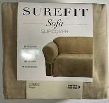 Sofa Slipcover Suede Taupe - Surfit