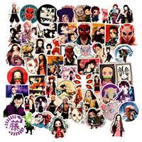 70 pcs Demon Slayer Kimetsu no Yaiba Decal Sticker for Skateboard/Luggage/Laptop