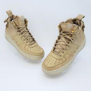 Nike SF Air Force 1 Mid GS Sneakers Mushroom Sneakers Size 6.5Y AJ0424-200