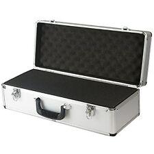 SRA Cases EN-AC-FG-C401 Silver Aluminum Hard Case for Camera, Guns, Electronics,