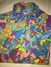 Patty- Nick Nack Patty Wack Girls Sz. 4 Lightweight Zip Jacket. Great Patterns
