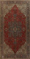 Floral Semi Antique Traditional Hand-knotted Area Rug Wool Oriental Carpet 10x16