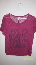 ladies X Small Hang ten Light weight sweater says Your Braver Than You Think
