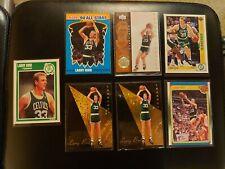 1989-90 Fleer #8 Larry Bird Celtics lot of 7 w all star team + more