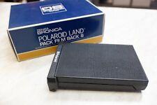 Bronica Zenza Polaroid Land Pack Film Back S