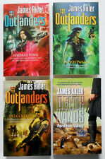James Axler lot of 4 postapocalyptic OUTLANDERS & DEATH LANDS
