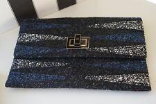 Anya Hindmarch Valorie Glitter Clutch Bag