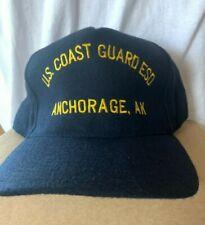New Uscg baseball hat cap Us Coast Guard Esd Anchorage Alaska Station