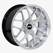 19x8.5 VMR Rims V710 CUSTOM ET35 Hyper Silver Wheels (Set of 4)