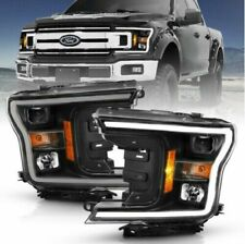 Anzo USA 111467 Projector Headlight Set w/Halo for 2018-2019 Ford F-150
