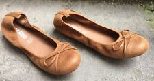 DESTOCKAGE BALLERINES MARQUE 226 SHOES, CAMEL @ TAILLE 36 @ NEUF 49€ @ N1239