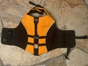 Ruffwear Orange Float Coat Dog Life Jacket Safety Vest Reflective L Large - NWOT