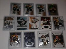 BOSTON BRUINS HOCKEY CARDS ROOKIES JERSEY AUTOGRAPHS U PICK FROM $1.00 AND UP