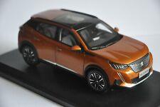 Peugeot 2008 car model in scale 1:18 Orange