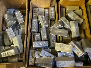 RCBS LYMAN SAECO 20+ lbs. Pure Lead Ingots for Bullets, Jigs, Sinkers