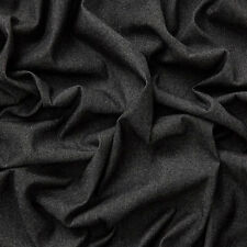 MASSIVE REMNANT Robert Kaufman Washed Denim Fabric - Black - Approx 142cm x 1.1M