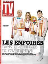 TV MAGAZINE N°22259 6 MARS 2016 LES ENFOIRES: CANTELOUP, DICAIRE& PANACLOC/ LAMY