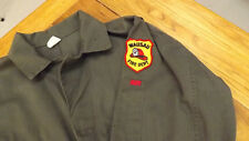 Vtg Coveralls, Wausau Wisconsin Fire Department Patch 44M