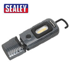 Sealey LED3601CF Rechargeable 360 Inspection Lamp 2w COB LED Carbon Fibre