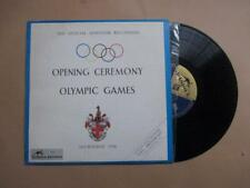 """Opening Ceremony Olympic Games, Melbourne 1956, 10"""" LP"""