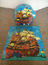 Djeco 'Barbarossa's Boat' - Pirate ship 54 piece jigsaw puzzle