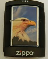ZIPPO  20400 EAGLE AQUILA ACCENDINO originale LIGHTER Limited Edition Z37
