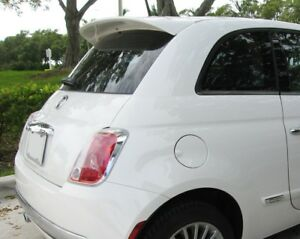 "PAINTED ""ABARTH-STYLE"" REAR SPOILER FOR 2012-2017 FIAT 500 - LARGER THAN POP"