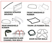 Mercedes W108 Weathership Rubber Seal Gasket 15 Pieces Set 250S 250SE 280S 280SE