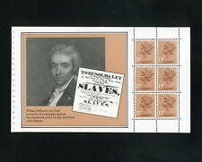 1984 Booklet pane CHRISTIAN HERITAGE SG X901m (Wilberforce) MNH / UMM CV£4.50